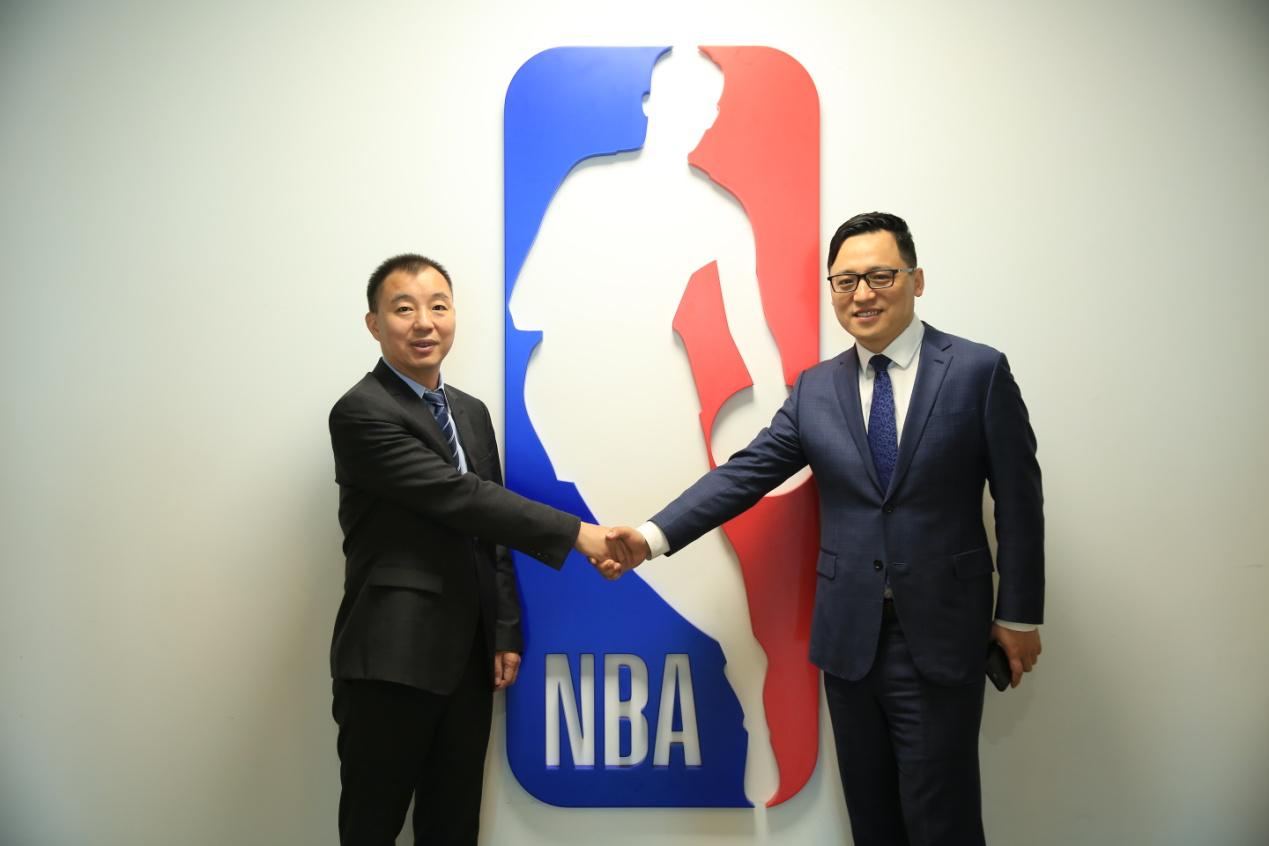 NBA中国看中了长虹的创新能力